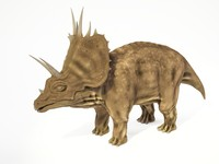 3d max triceratops