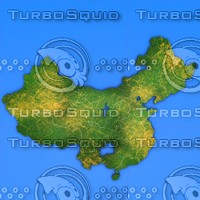 china country 3d model