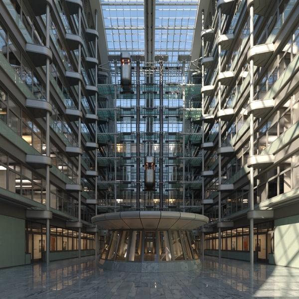 corporate atrium office max