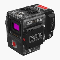 Red Weapon Dragon 6k Body Professional Movie Camera