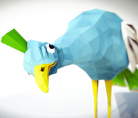 peacock animations 3d x