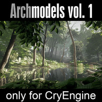 trees cryengine 3d 3ds