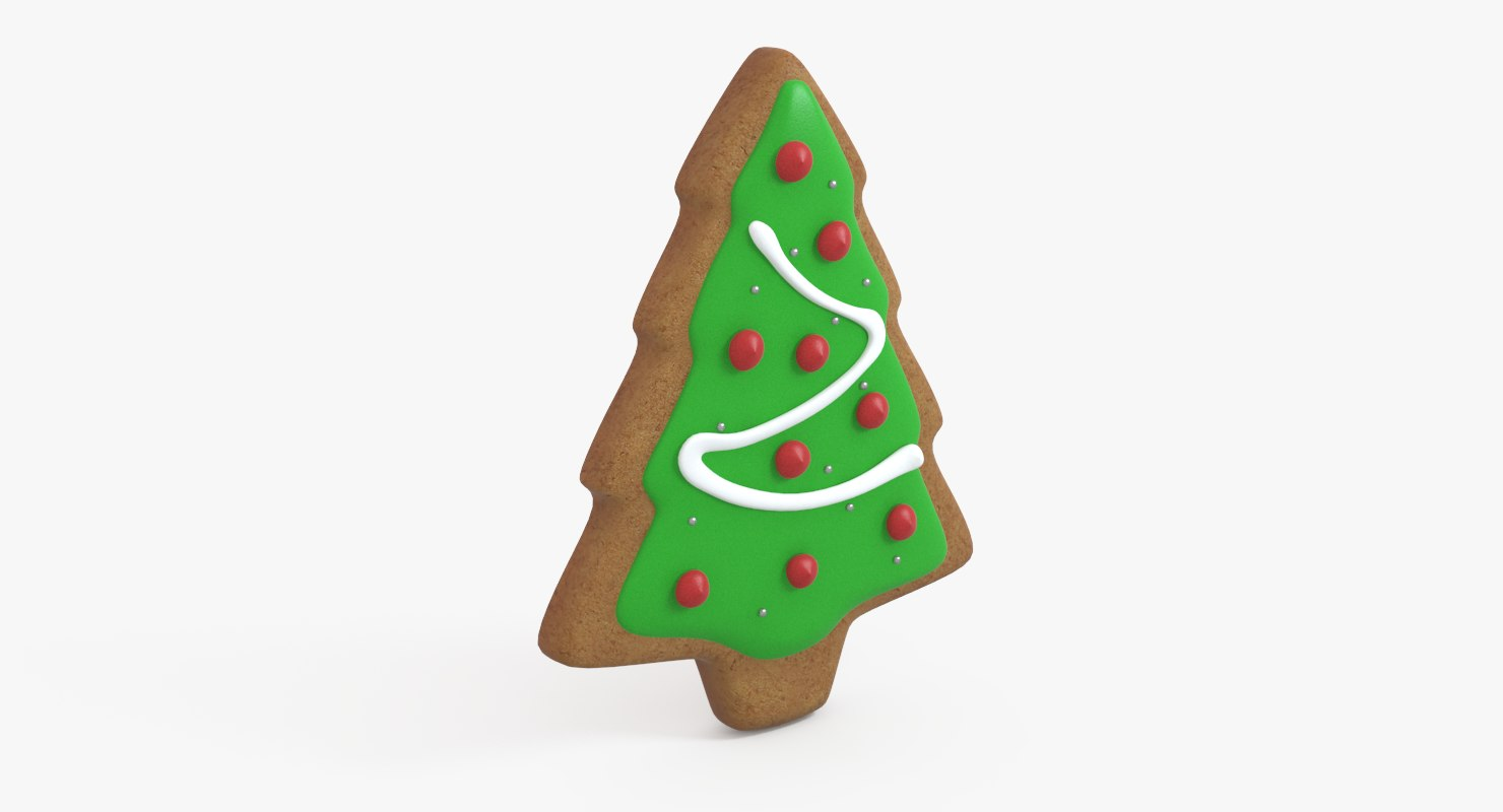 gingerbread tree 3d model