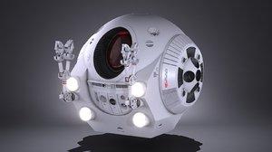 3d eva pod space