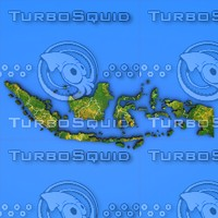 3d indonesia country