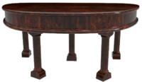 wood desk 3d obj