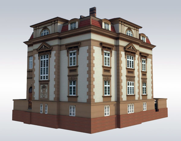 3d city elegant model