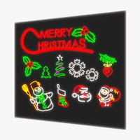 Christmas Neon Pack