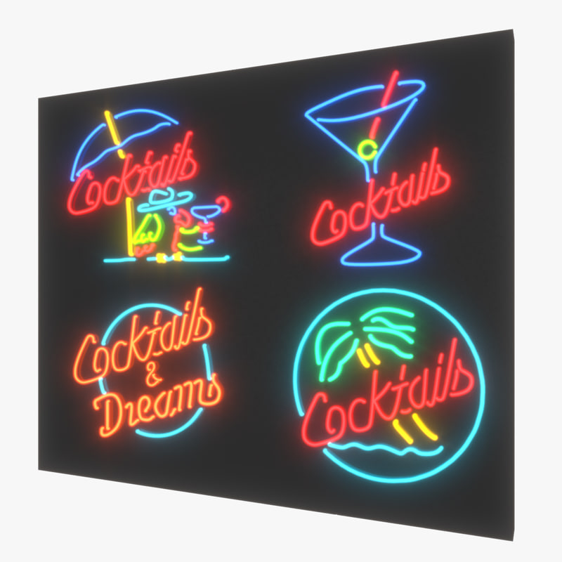 3ds neon sign