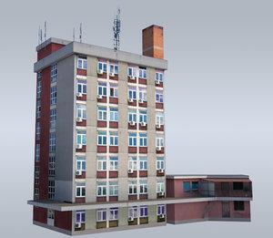 building administrative 3d ma