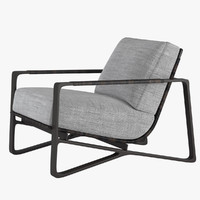 Holly Hunt Omura Lounge Chair