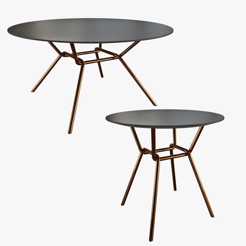 3d model strain coffee table