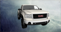 3d model of gmc sierra 2012