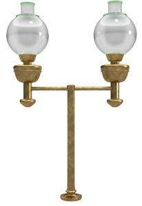 oil lamp obj