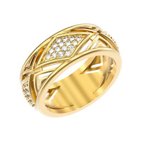 3d jewelry ring wedding