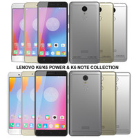 realistic lenovo k6 power 3ds