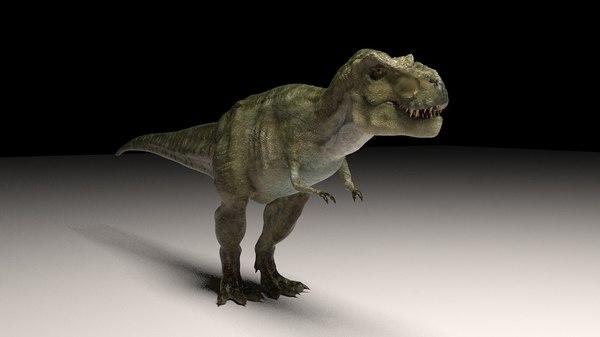 3d model t-rex