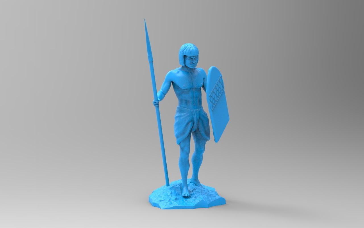 free obj model statue