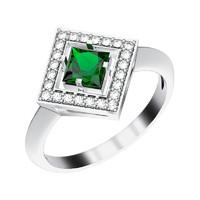 jewelry ring gemstone 3d model