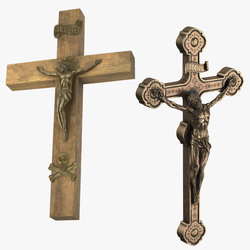 3d crucifixes