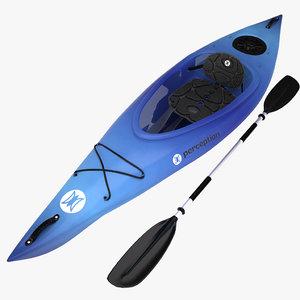 kayak perception obj
