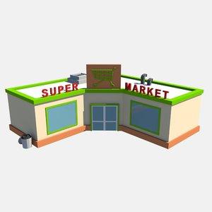 supermarket market 3ds