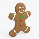 gingerbread man 3D models