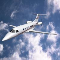 3d model embraer fma 123 cba