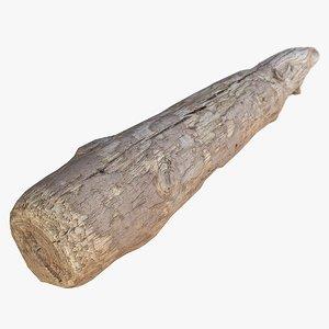 wood log 3d max