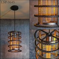 3d model lussole loft lsp-9645