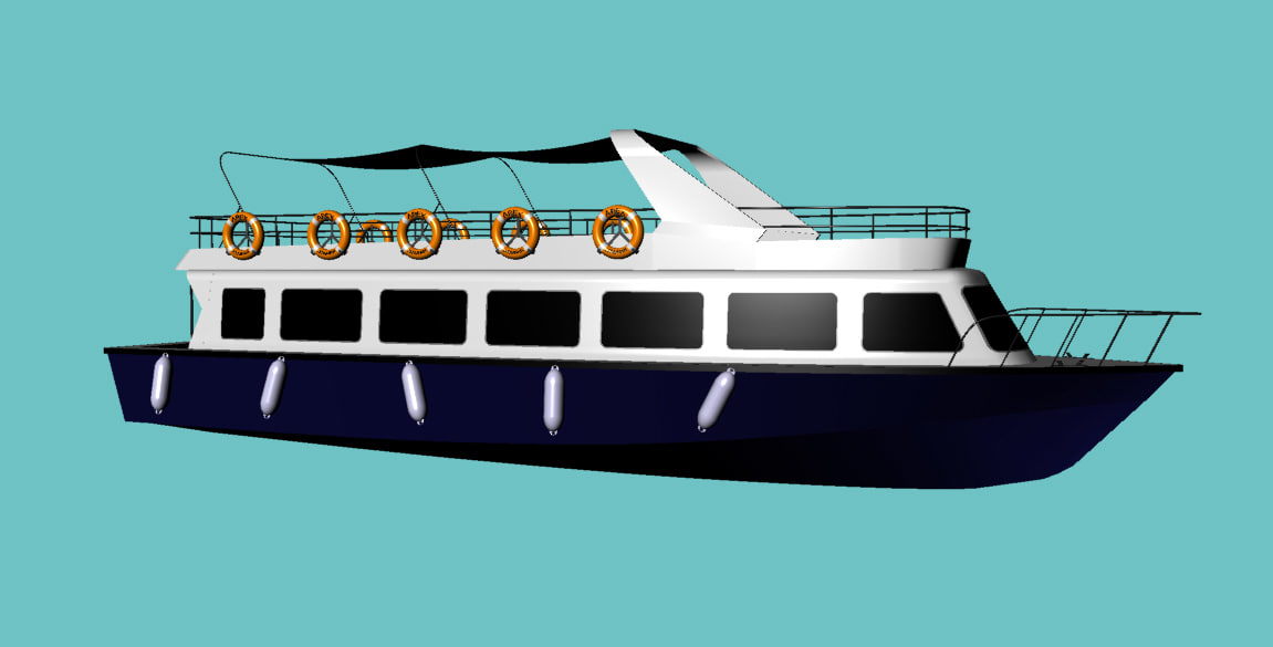 passenger trip ship 3ds