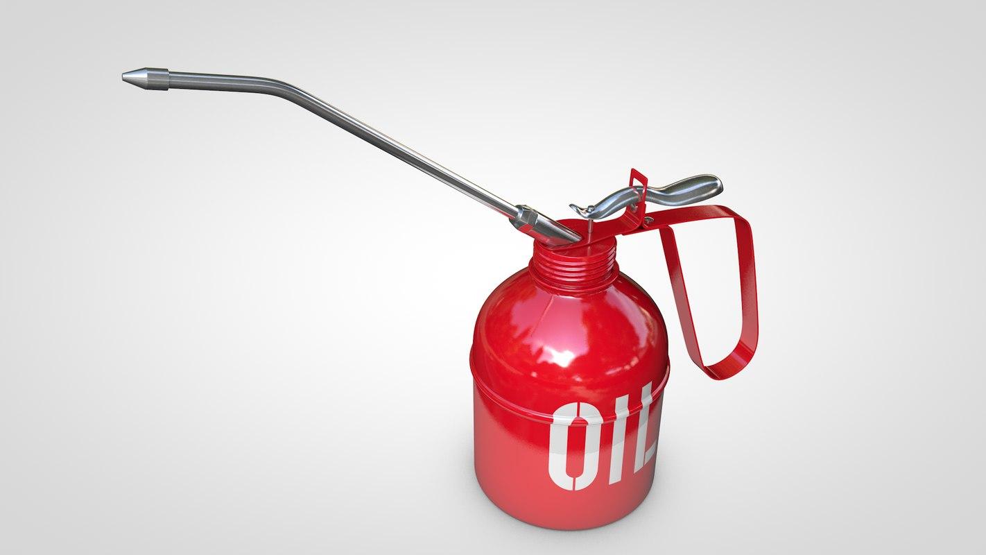 oil 3d c4d