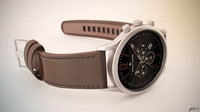 alpha saphir watch 3d model