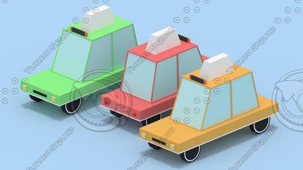 3d taxi simple