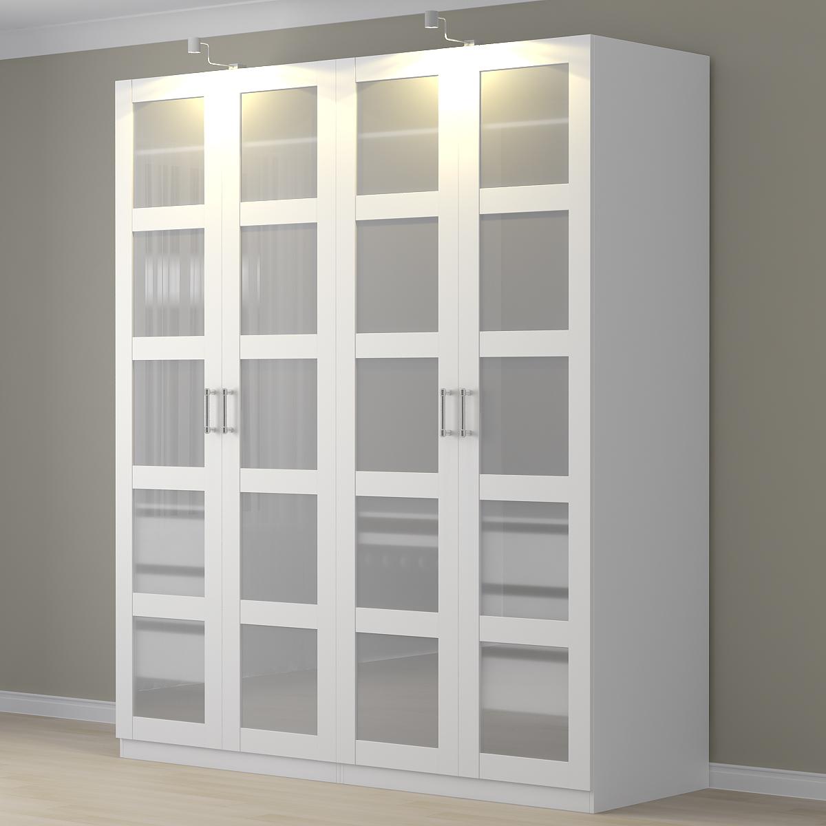 buy online 23713 09375 Wardrobe Ikea Pax/Bergsbo.