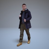 ma guy winter jacket people human