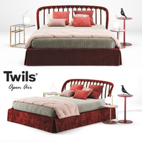 bed twils open air 3d max