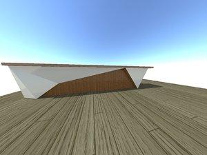 3d model bar design