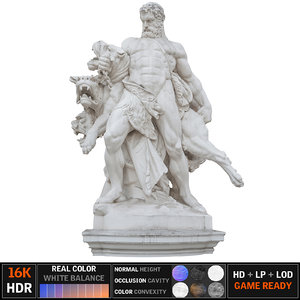 vienna monument scanned 3d max