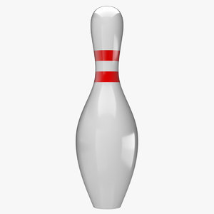 3d model bowling pin