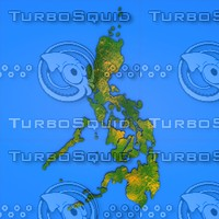 Philippines detailed country map