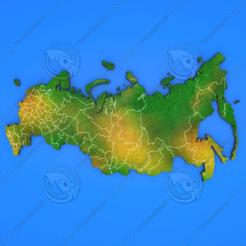 3d russia country