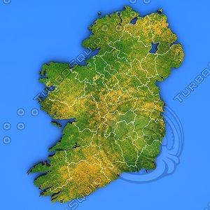 ireland country obj