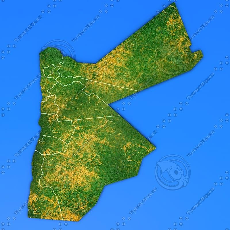 jordan country 3d max