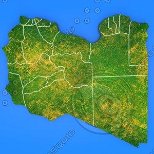 3d libya country