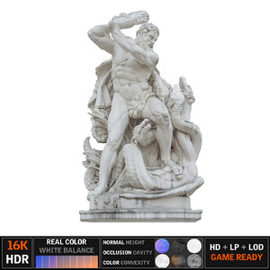 3d max vienna monument scanned