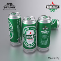 Beer Can Heineken green 500ml