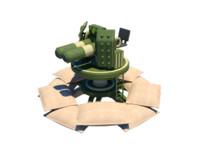 3d gun gaming model