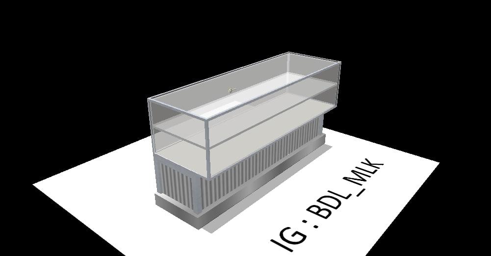 free storefronts 3d model
