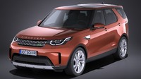 3d model land rover discovery